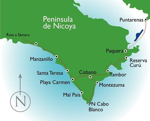 South Nicoya Peninsula