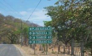 Playa Naranjo to Paquera road