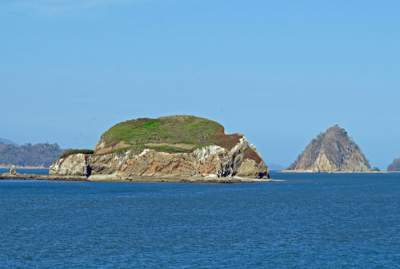 Island in the gulf of nicoya
