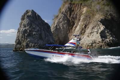 Private Service taxi boat Montezuma