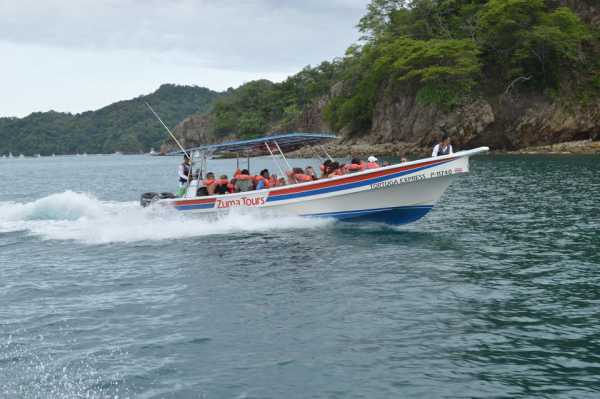 Taxi Boat North Pacific Costa Rica Montezuma
